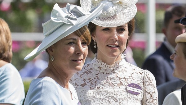 Carole Middleton y Kate Middleton