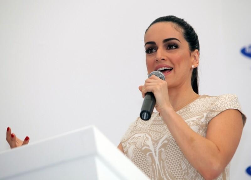 Ana de la Reguera será una de las portadoras de la antorcha olímpica.