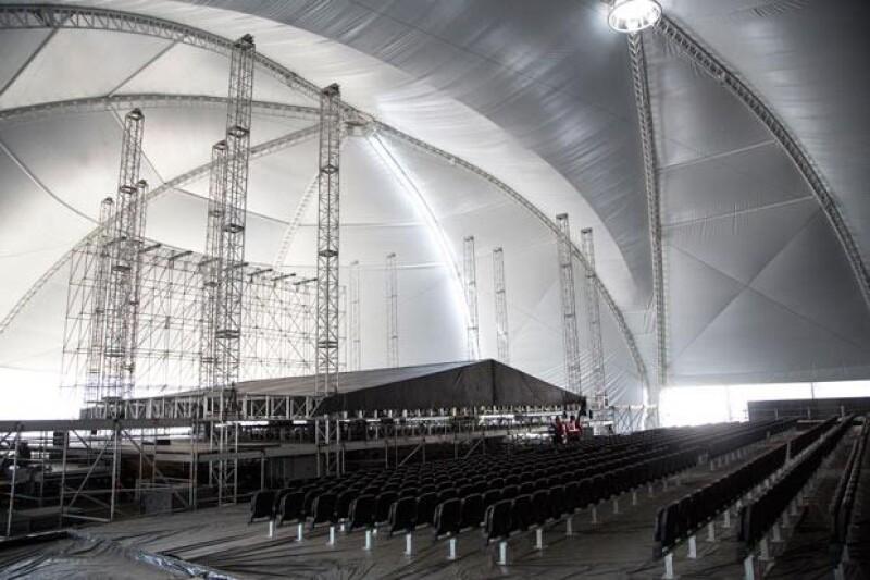 Ana Torroja, Malú, Melendi, Los Ángeles Azules entre otros, se presentarán en este impresionante escenario.