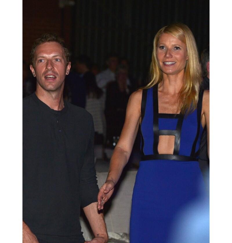 Ésta fue la última vez que Chris y Gwyneth se dejaron ver en un evento público.