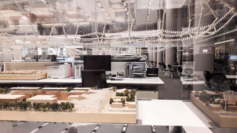 El despacho del Pritzker 1999