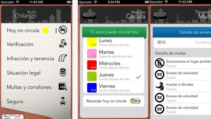 Auto Chilango app