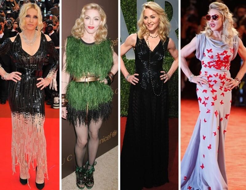 La reina del pop cumple hoy 54 años. A lo largo de su carrera se ha impuesto como un ícono camaleónico, te compartimos esta retrospectiva de sus diferentes looks.