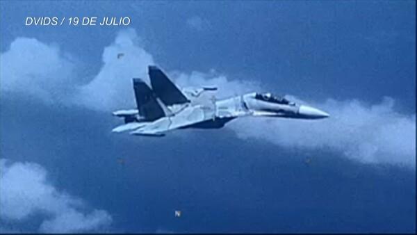 Avión venezolano agrede a aeronave estadounidense, según EU