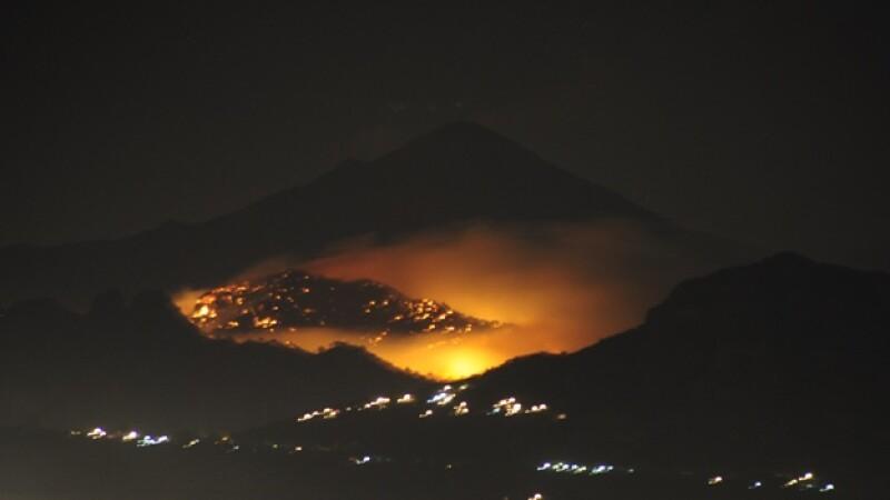 Incendios forestales en Morelos
