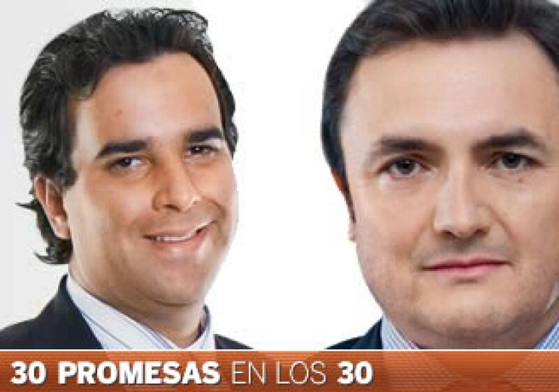 Fernández (izq) es socio fundador de Angel Ventures México, Camargo es economista en jefe de Bofa Merril Lynch en México. (Foto: Especial)