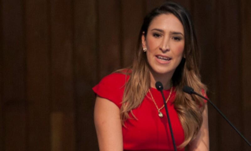 Mariana Moguel Robles se comprometió a responder con hechos. (Foto: Cuartoscuro)