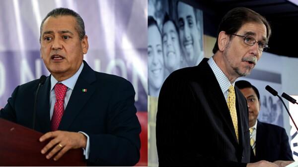 Ambos dirigentes presentaron su renuncia a sus respectivas dirigencias pasadas las elecciones del 5 de junio.