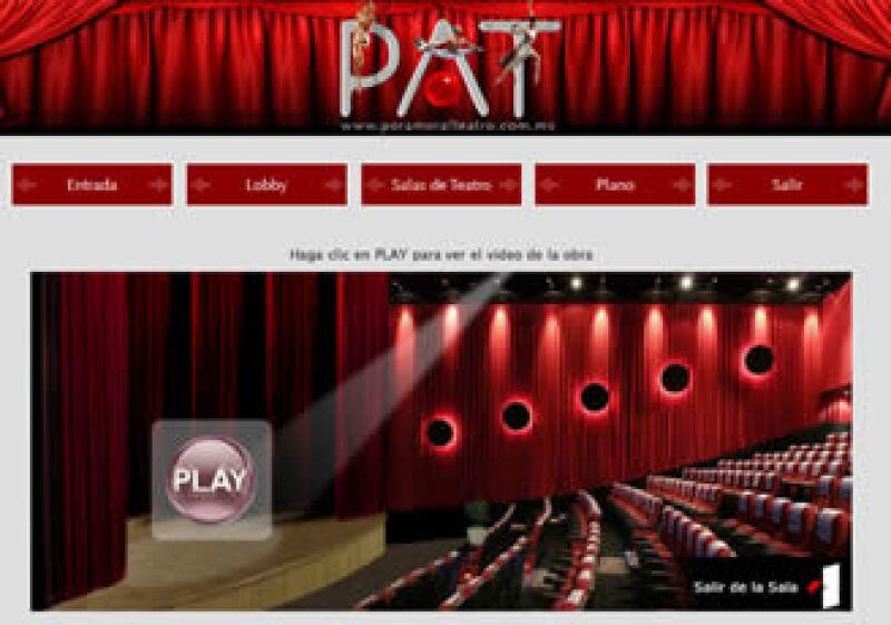 'Por amor al teatro' es el proyecto correspondiente a las artes escénicas. Añade también información artística y comercial del ámbito. (Foto: Cortesía Juncov Networks)
