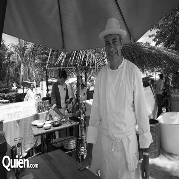 Chef Thierry Blouet