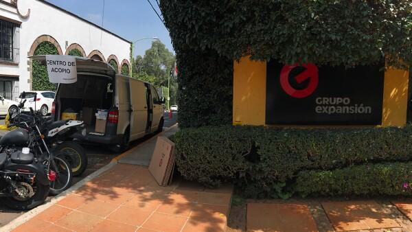 Centro de Acopio en Grupo Expansión.