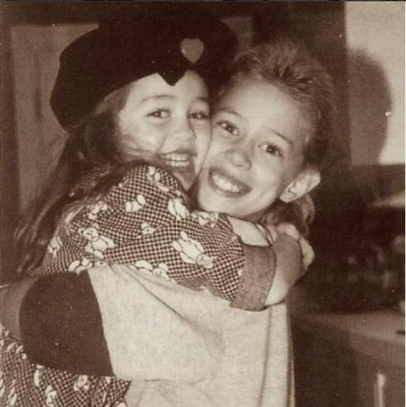 Miley y Trace tienen una gran relación desde la infancia.