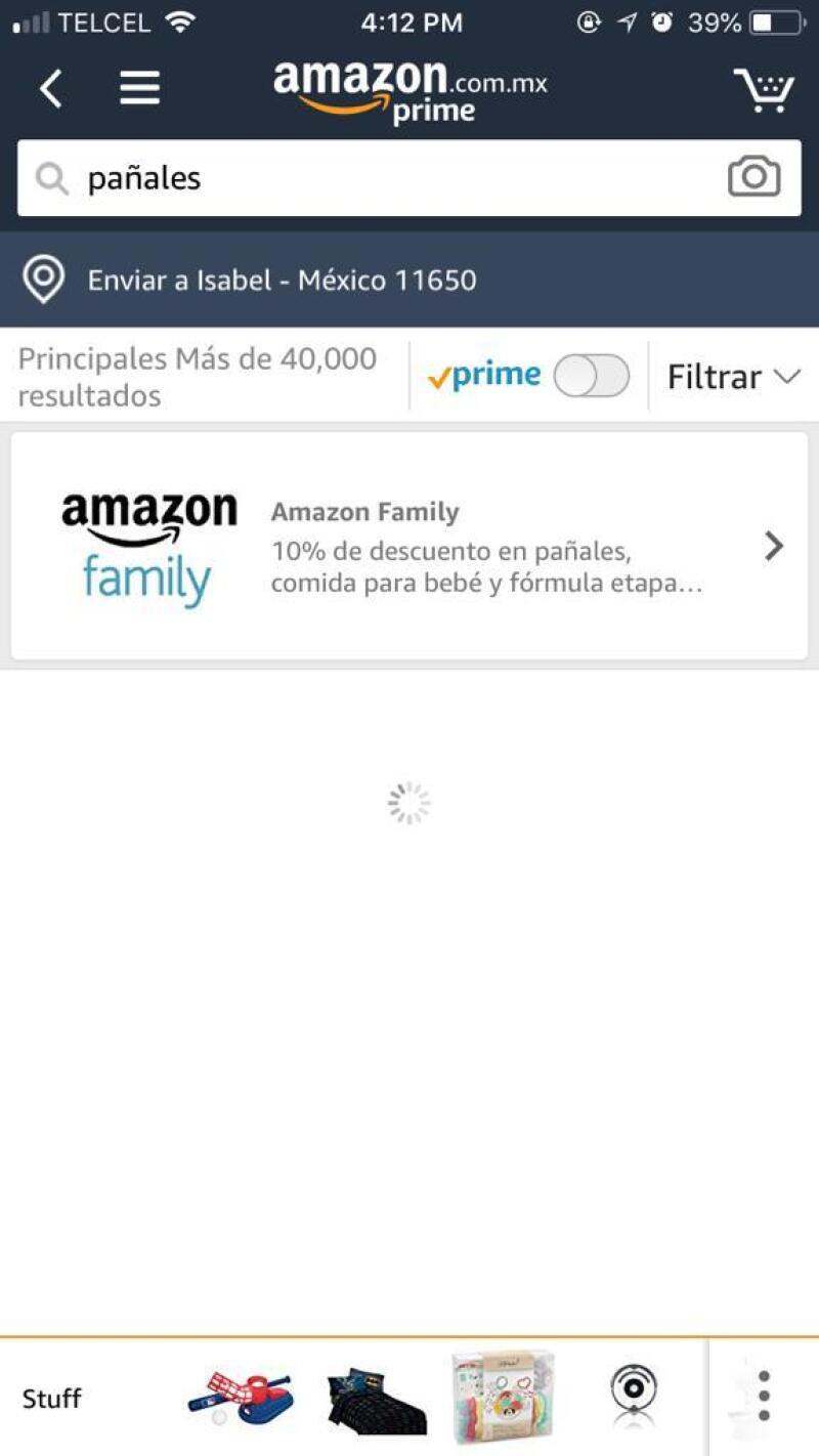 Amazon tiene un reporte de caída, posterior a su llegada al billón de dólares