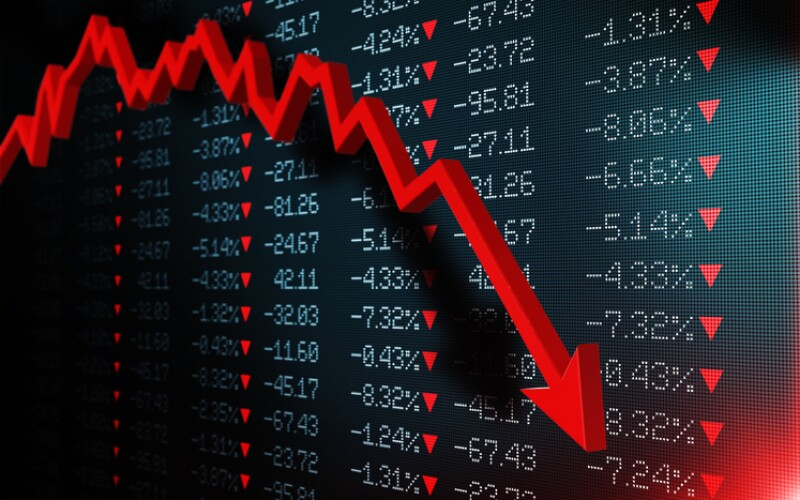 Stock Exchange Market Is Crashing