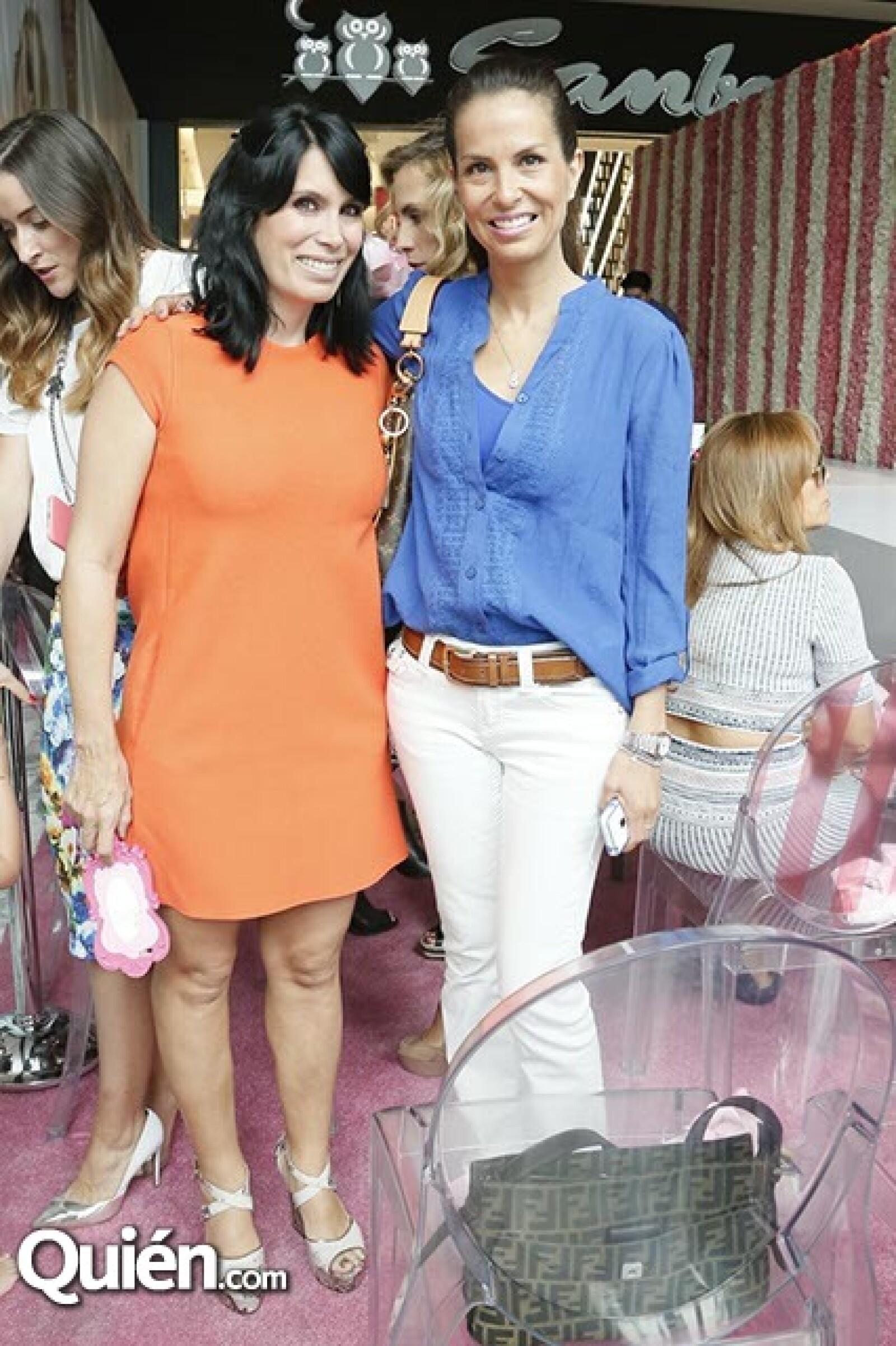 Claudia Reta y Lilí Verduzco