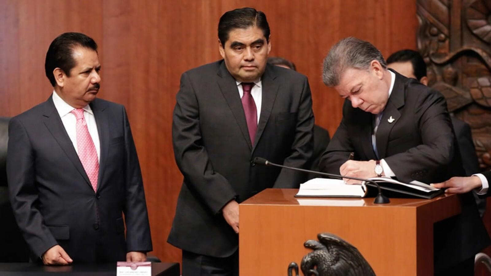 Santos en el Senado