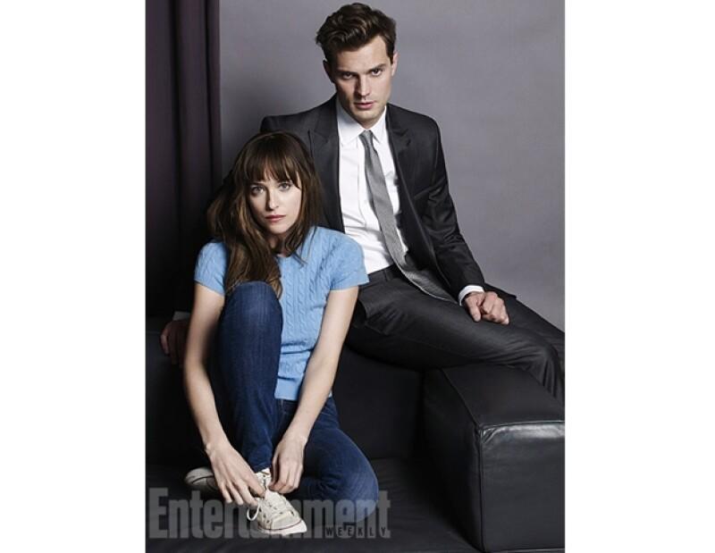 Jamie y Dakota vivirán un tórrido romance en la pantalla grande.