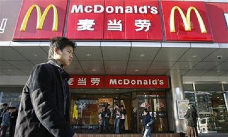 En China, la firma de hamburguesas está detrás de Yum Brands, que maneja KFC y Pizza Hut. (Foto: Reuters)