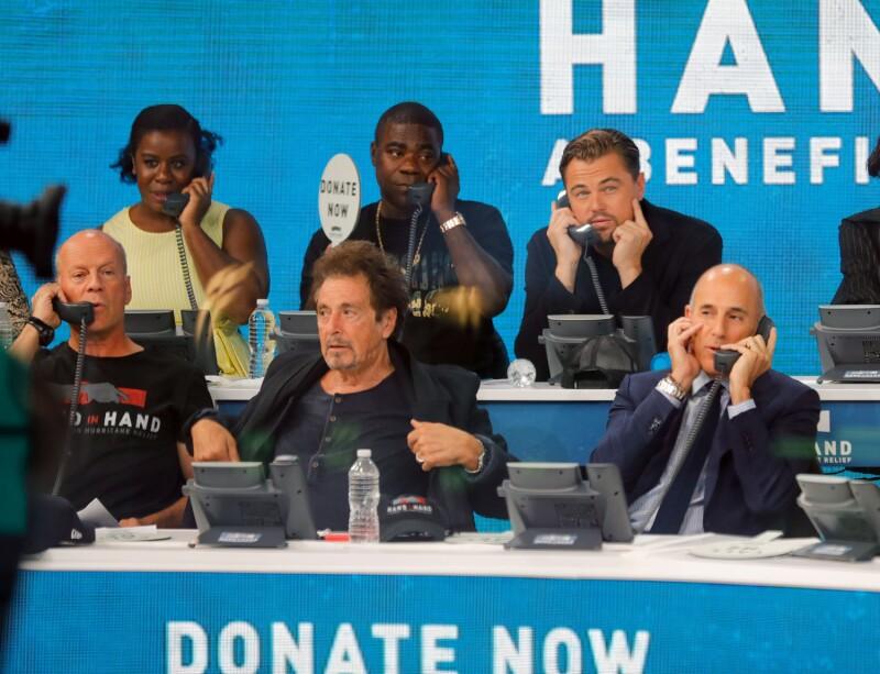 Teletón celebridades huracanes Harvey e Irma.
