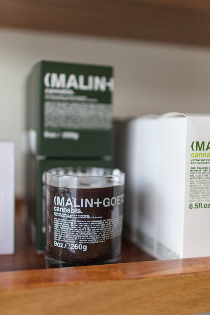 Vela Cannabis de Malin + Goetz , en Silver Deer
