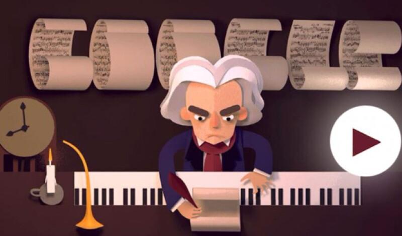 El 'doodle' interactivo presenta rompecabezas junto con pasajes de la vida del compositor, considerado un genio de la música clásica, poniendo a prueba tu memoria.