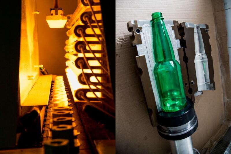 Crear la botella de PET de 710 ml requirió de dos años de pruebas y siete moldes distintos.