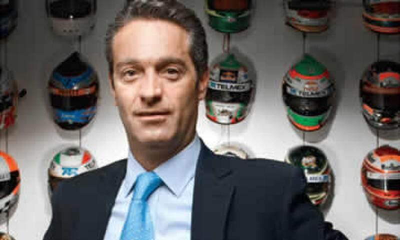 Carlos Slim Domit asegura que el proyecto deportivo que lidera en Fórmula Uno, la Escudería Telmex, tiene muchas sinergias con el negocio más importante de su familia: las telecomunicaciones. (Foto: Duilio Rodríguez)