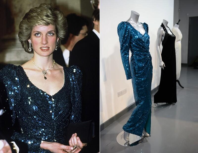 El vestido será subastado en Reino Unido y se estima que alcanze más allá de los 100 mil euros.