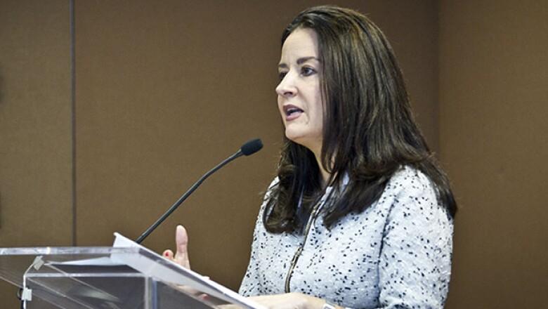 Pilar Aguilar, directora general de Endeavor –organismo acelerador de negocios–, habló a los finalistas sobre el emprendedurismo en México.