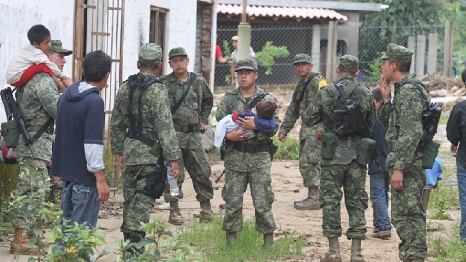 Soldados en rescate en Guerrero3