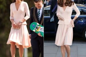 La royal usó el mismo look en 2014 y en 2016.