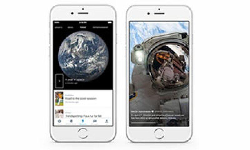 Al hacer clic en un momento, se proporcionará la información del hecho que puede estar acompañada de un video, imágenes, Vines o archivos GIF. (Foto: Cortesía Twitter )
