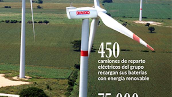 Bimbo destaca en energías renovables