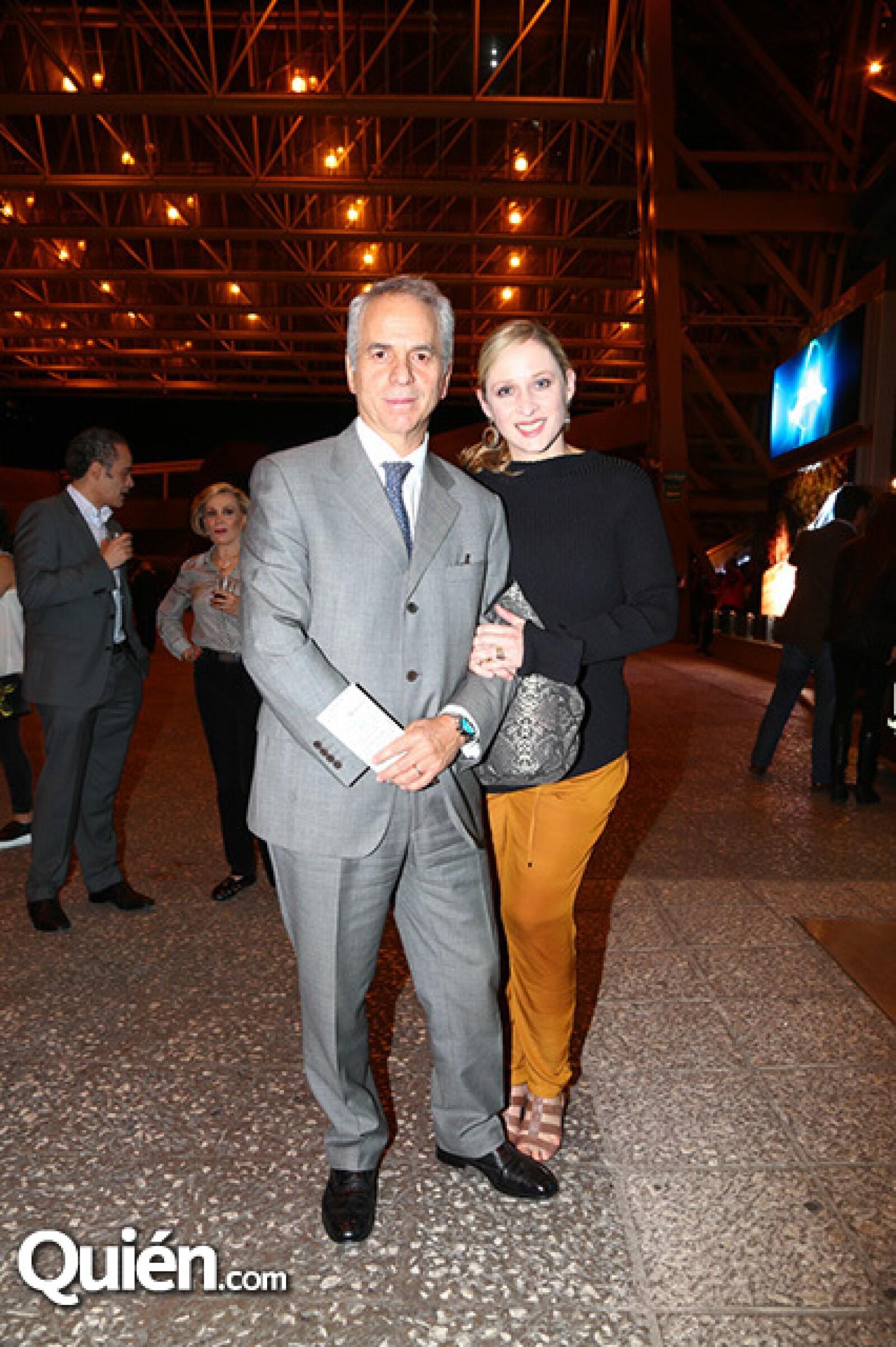 Francisco Cabalero y Patricia Gourt