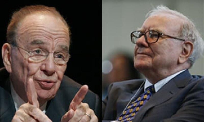 Murdoch, cuyo diario se identifica más con los republicanos, retó a Buffett, partidario abierto de Obama, a declarar sus impuestos. (Foto: Especial)