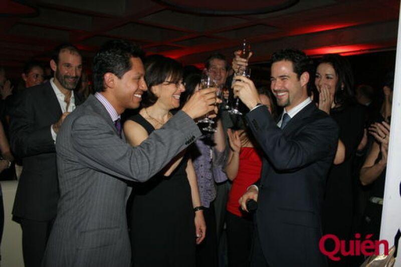 Alejandro Betancourt, Nancy Saizman, Emiliano Salinas