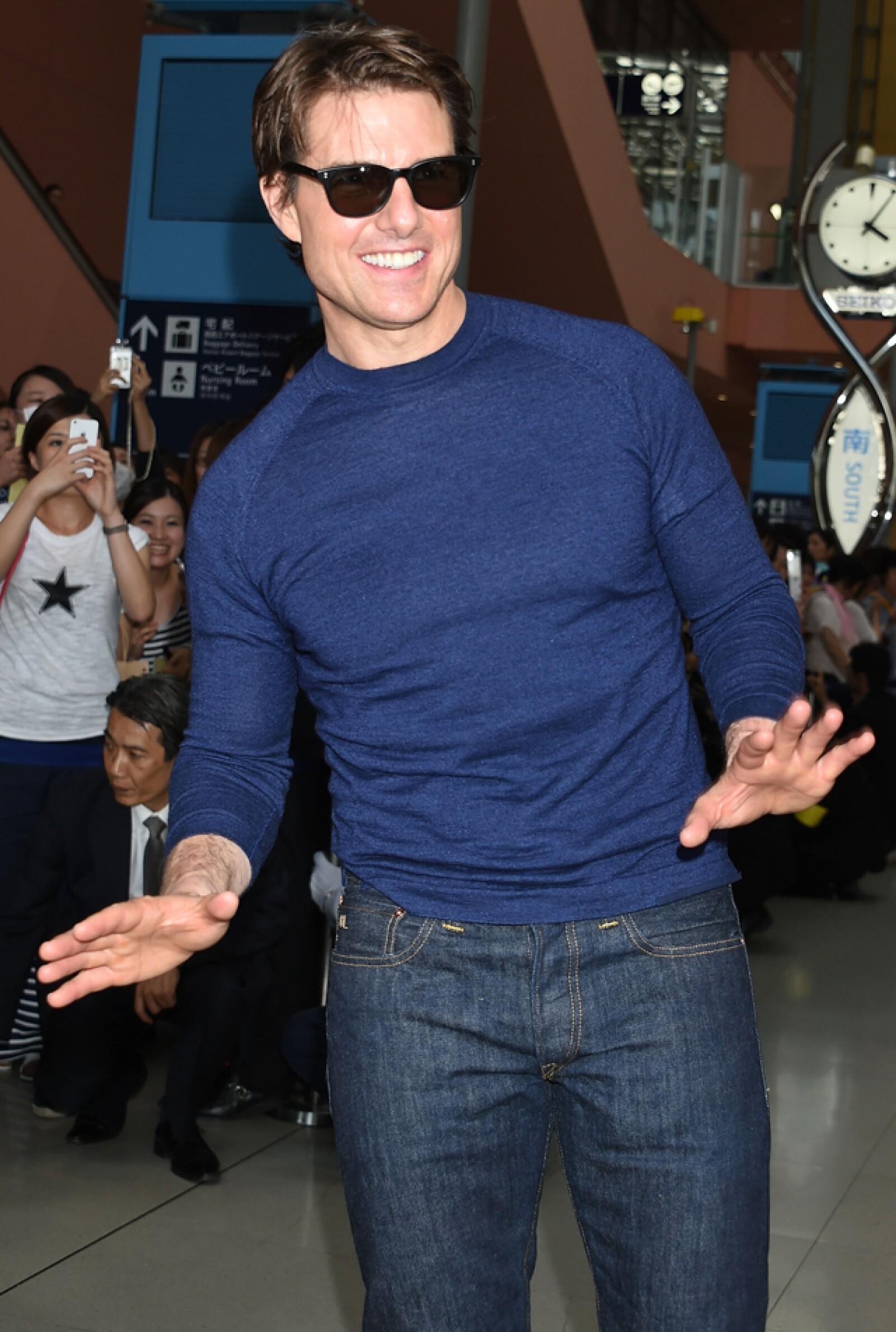 Tom Cruise, 52 años.