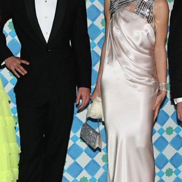 Aquí Pierre y Carlota Casiraghi. La hija de Carolina demostró una vez más que sabe cómo vestirse para los eventos.
