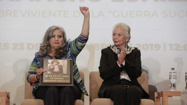 Martha Alicia Camacho disculpa pública