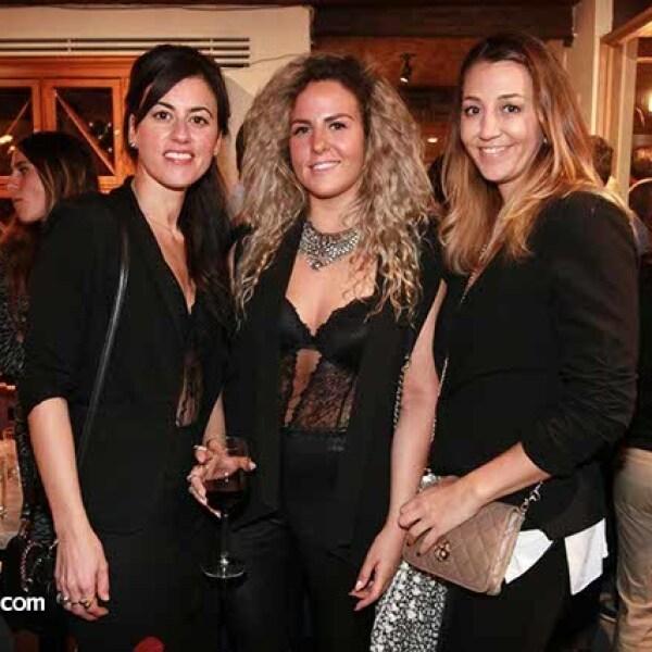Luciana Arballo,Hamne Engels y Begoña Quintana