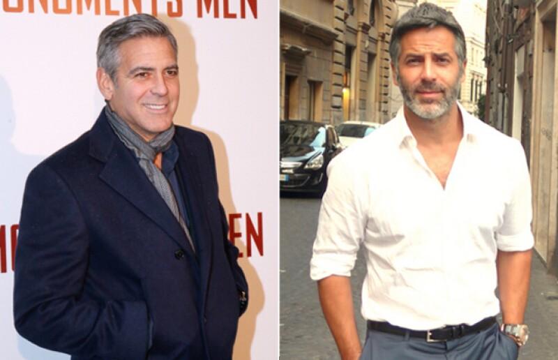 Se parezcan mucho o no, no podemos negar que Guillermo Zapata es también muy guapo, como George Clooney.