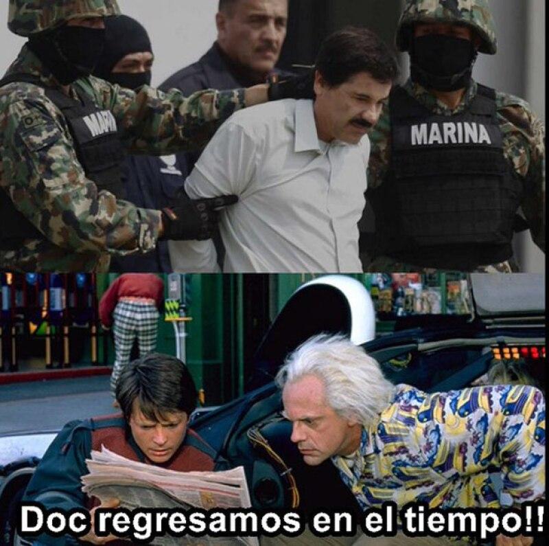 El Chapo, capturado por segunda vez.