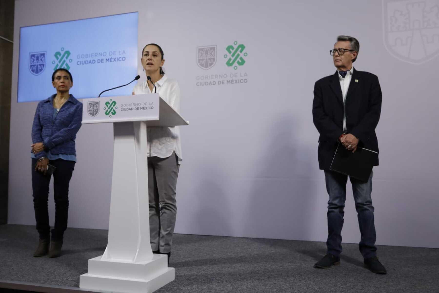 Sheinbaum con Oliva Pérez Arellano