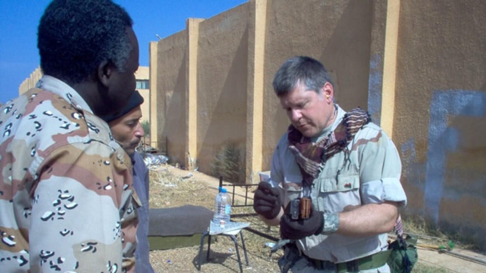 Libia - soldado de EU - grupo