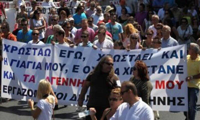 La confederación de sindicatos del sector privado GSEE participará en la próxima huelga.  (Foto: Reuters)