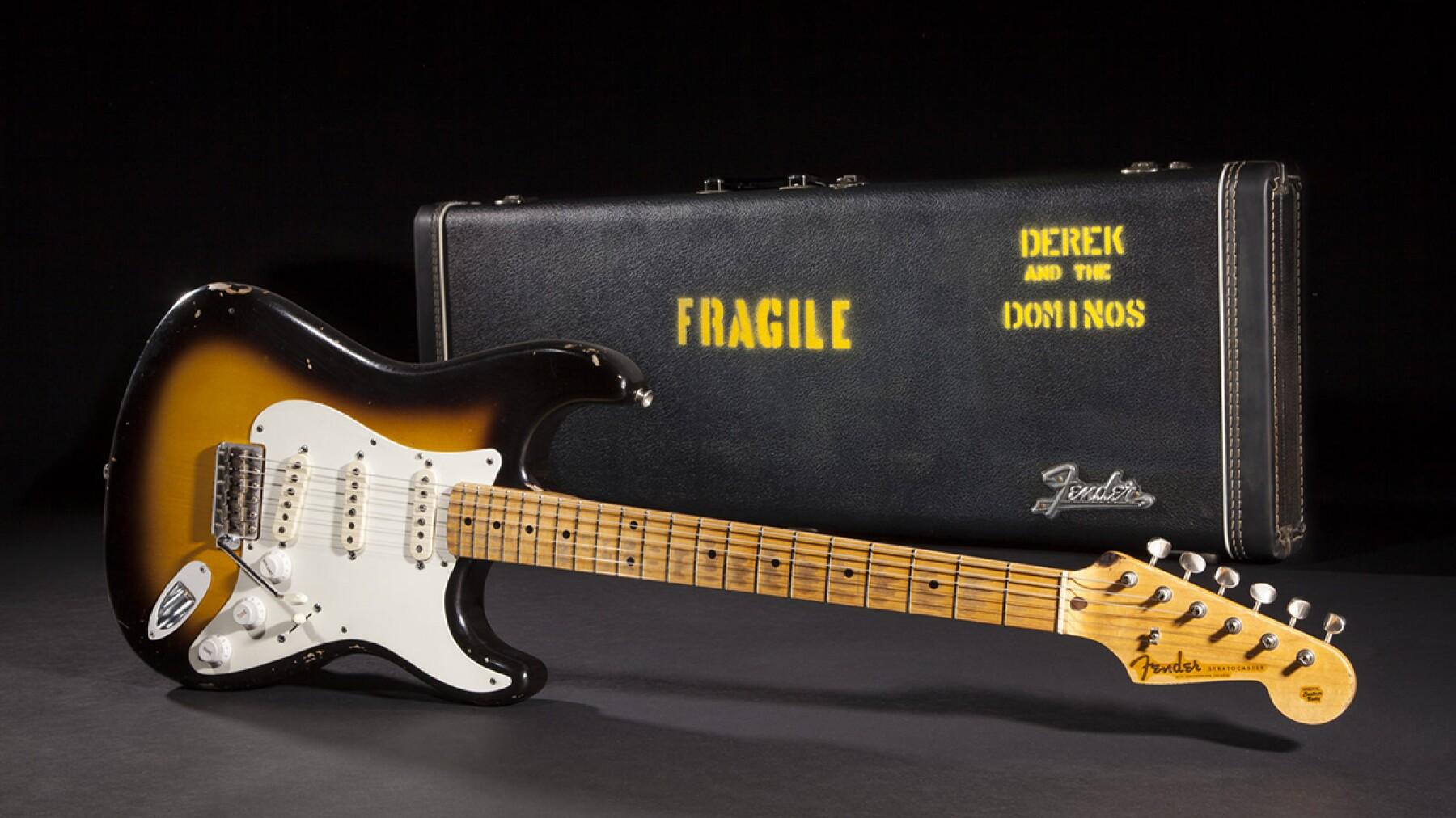 """Fender Stratocaster """"Brownie"""" - 450,000 dólares"""