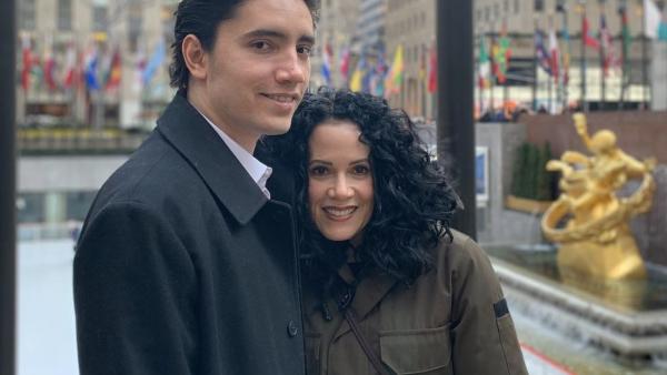 Alex Fernández y América Guinart