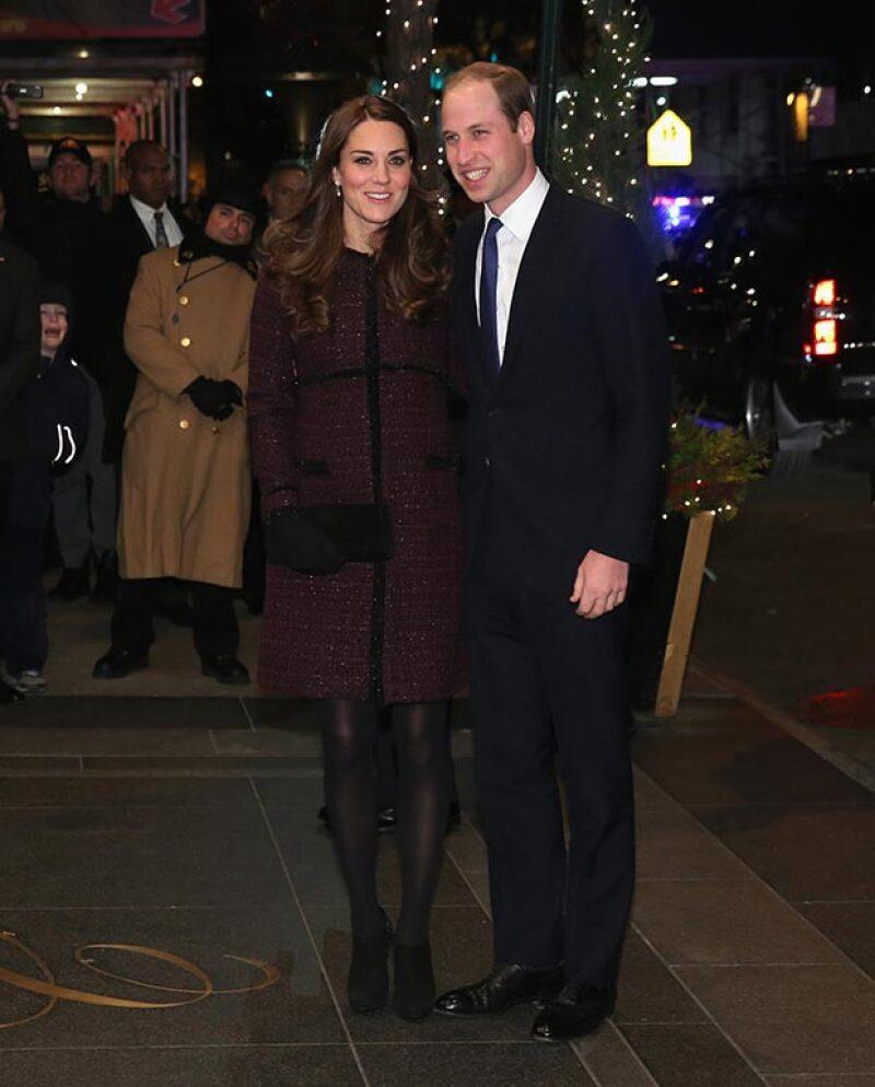 Los Duques de Cambridge iniciaron este domingo su visita a Estados Unidos, donde se reunirán con el presidente Barack Obama.