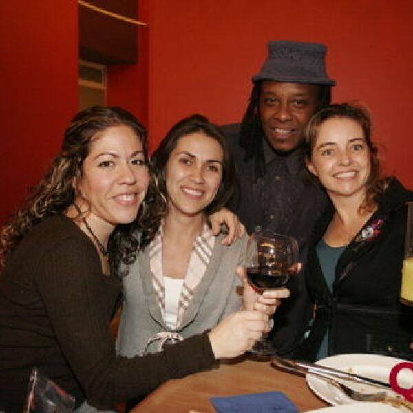 Marisol Pulido, Arlette Salas, Cody Moffett, Ana López