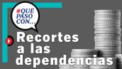 #QuéPasóCon... los recorte a las dependencias